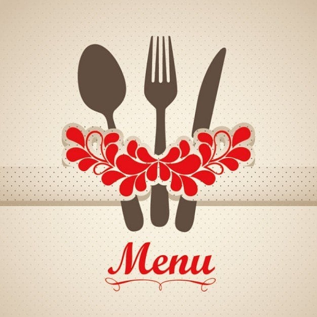 «Siberia» cafe menu